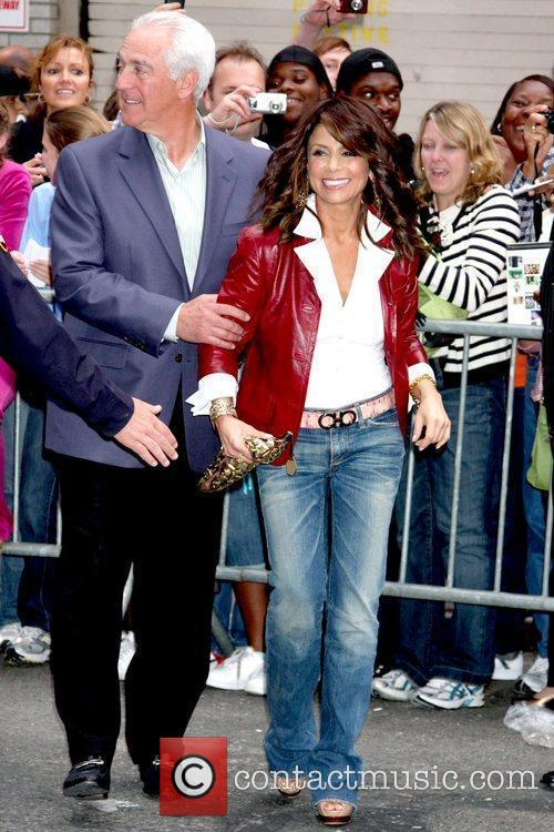 Paula Abdul and David Letterman 27