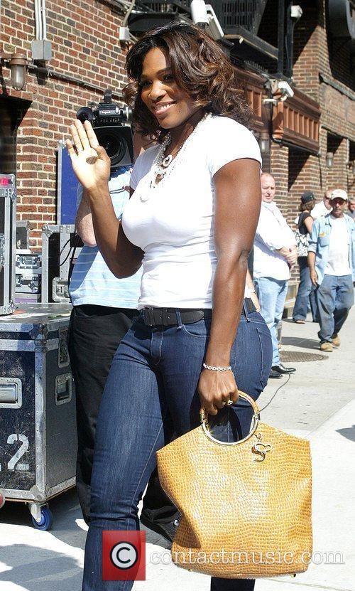 Serena Williams, David Letterman and Ed Sullivan Theatre 8