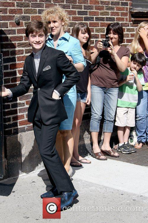 Daniel Radcliffe, David Letterman and Ed Sullivan Theatre 3