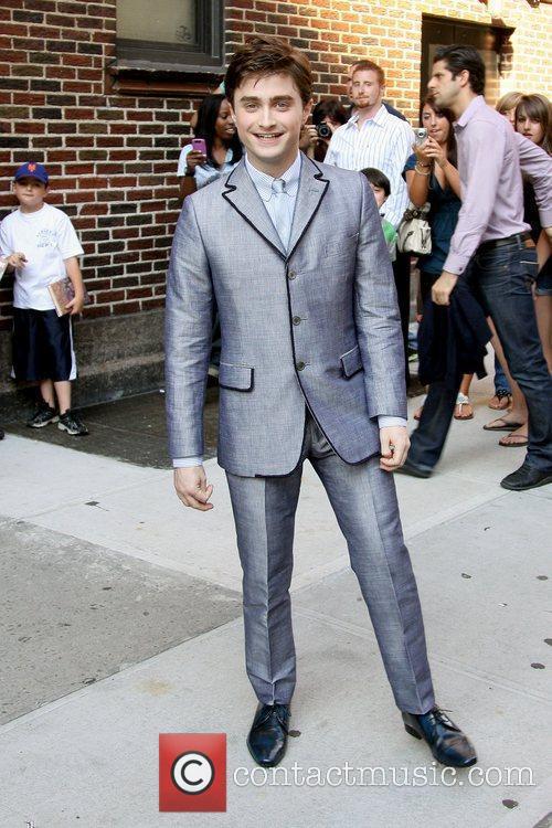 Daniel Radcliffe, David Letterman and Ed Sullivan Theatre 2