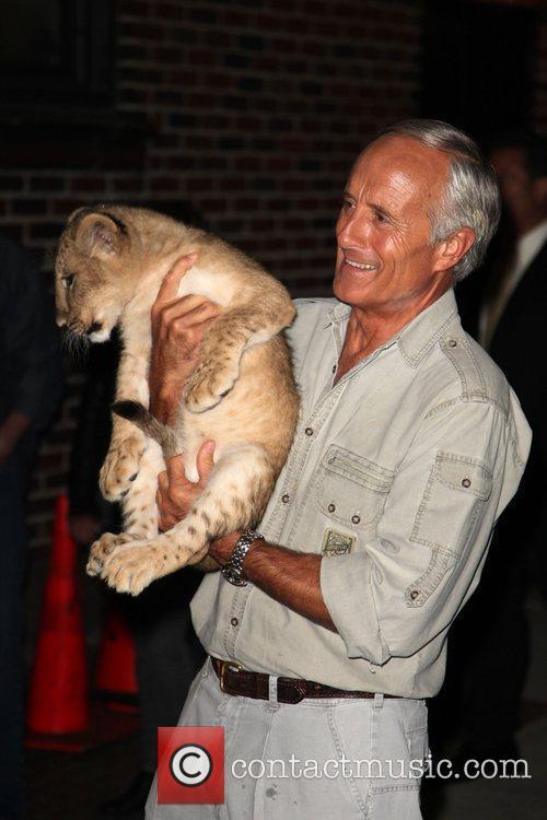 Jack Hanna and David Letterman 3