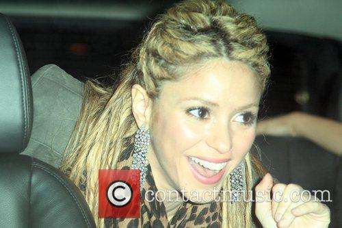 Shakira and David Letterman 3