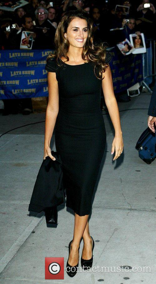 Penelope Cruz and David Letterman 18