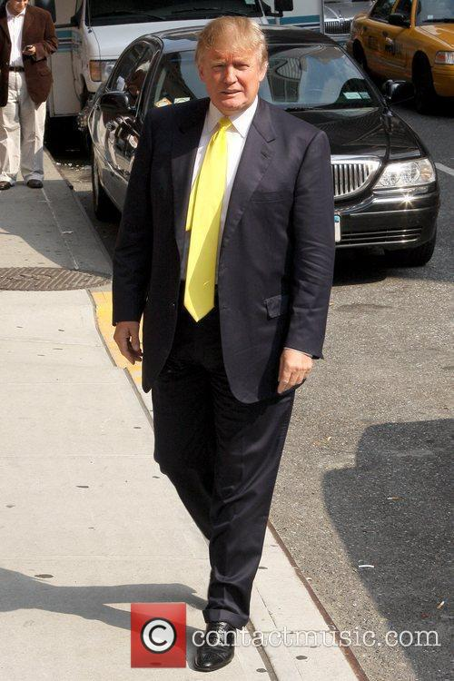 Donald Trump and David Letterman 4