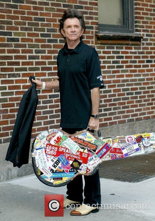 Gary Mule Deer and David Letterman 2