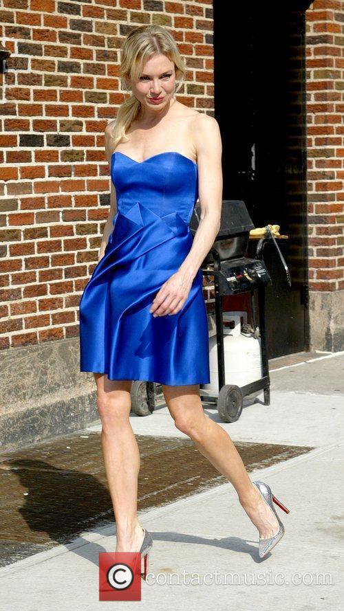Renee Zellweger and David Letterman 33