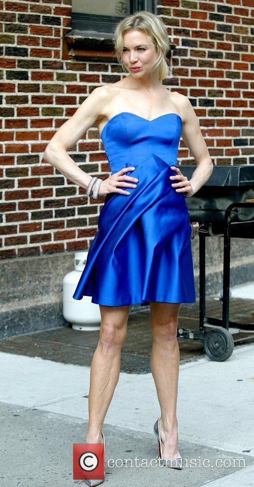 Renee Zellweger and David Letterman 25