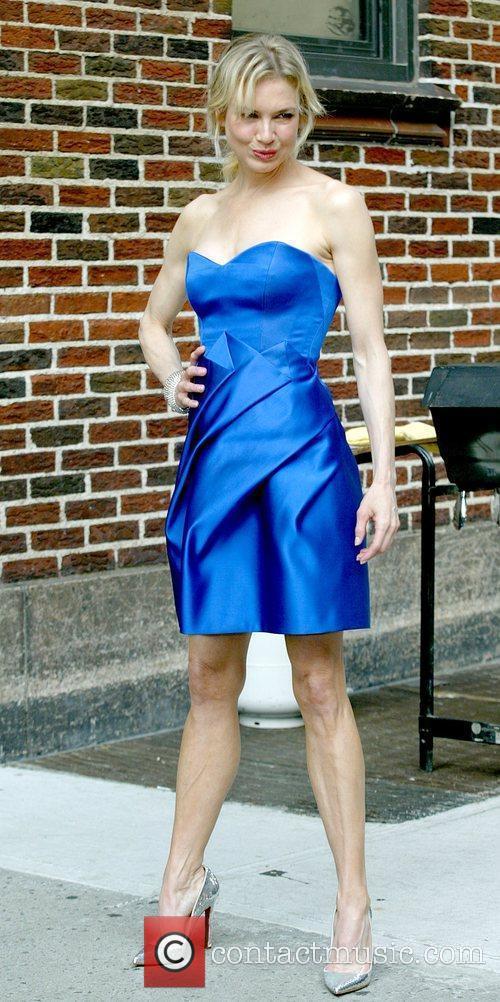 Renee Zellweger and David Letterman 20