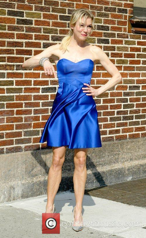 Renee Zellweger and David Letterman 28