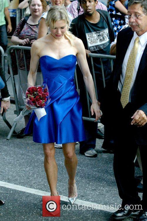 Renee Zellweger, David Letterman, Ed Sullivan Theatre