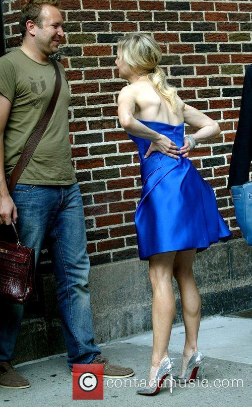 Renee Zellweger and David Letterman 26