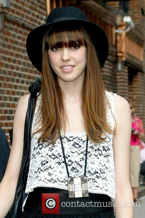 Diane Birch and David Letterman 1