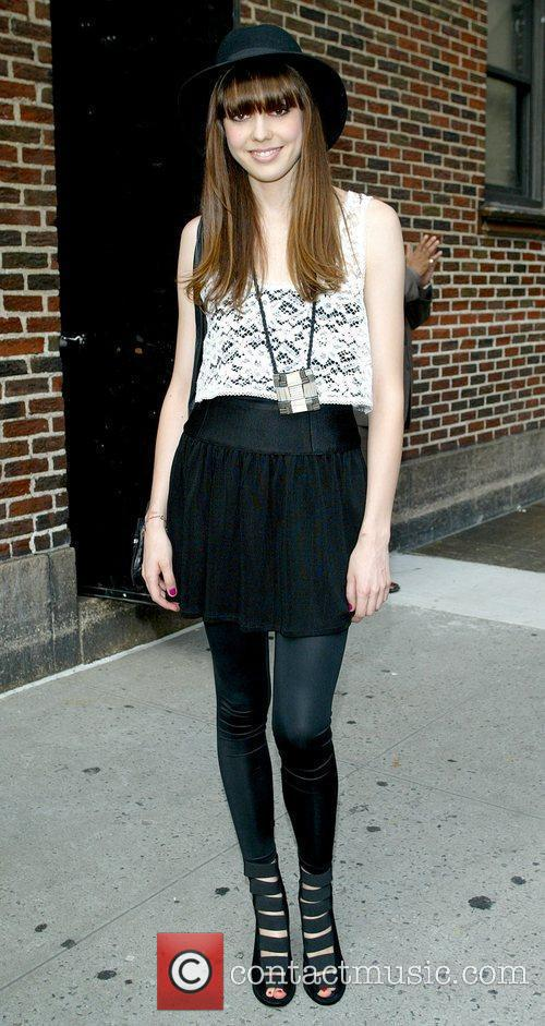 Diane Birch and David Letterman Large Picture