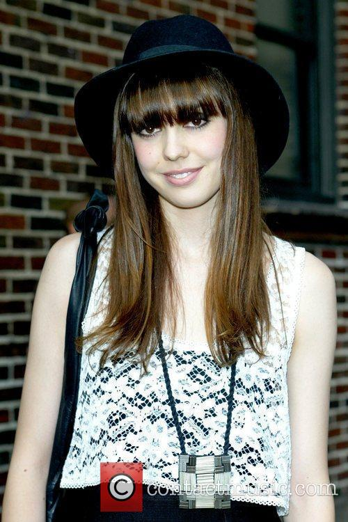 Diane Birch and David Letterman 5