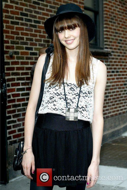 Diane Birch and David Letterman 4