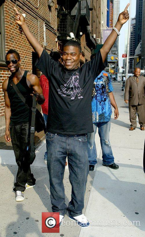 Tracy Morgan, David Letterman and Ed Sullivan Theatre 12