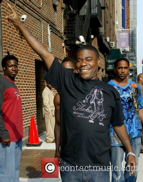 Tracy Morgan, David Letterman and Ed Sullivan Theatre 13