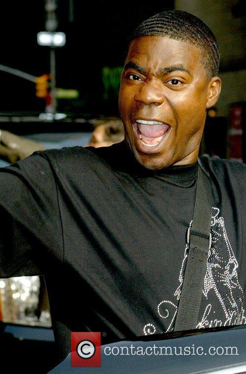 Tracy Morgan, David Letterman and Ed Sullivan Theatre 1