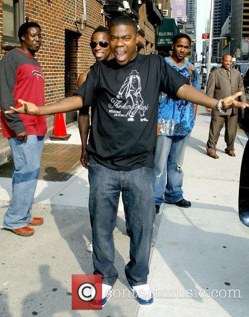 Tracy Morgan, David Letterman and Ed Sullivan Theatre 6
