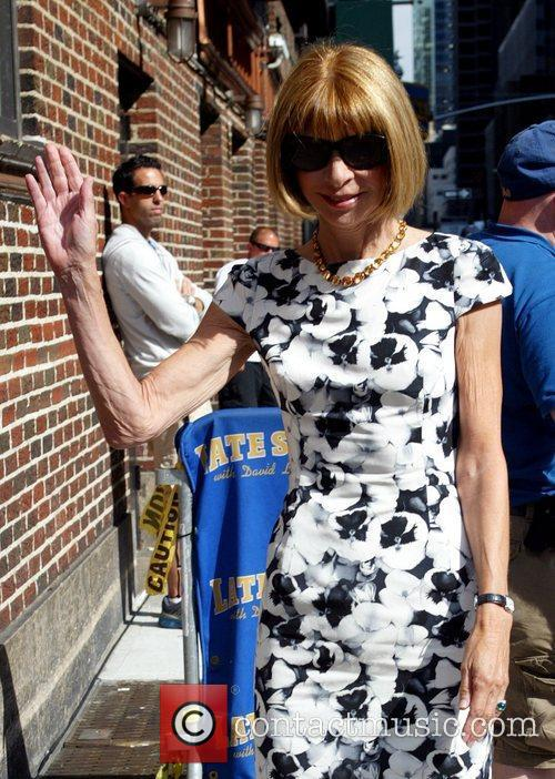 Anna Wintour and David Letterman 5