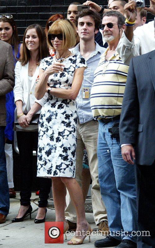 Anna Wintour and David Letterman 13