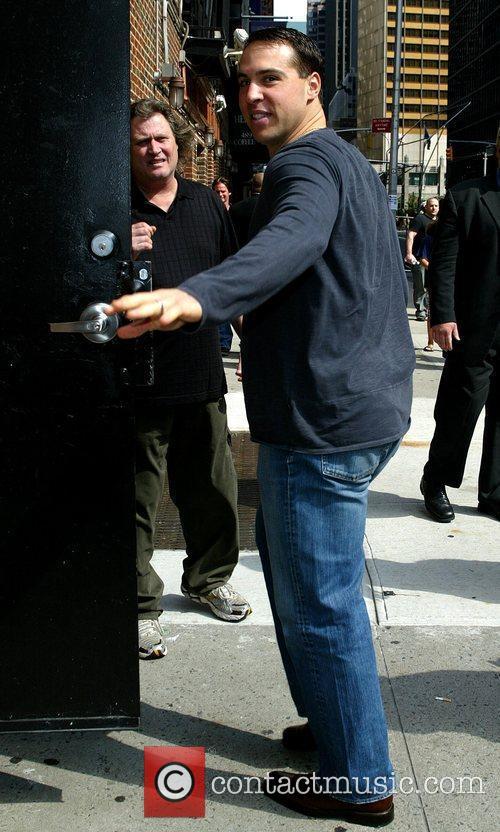 Mark Teixeira and David Letterman 2