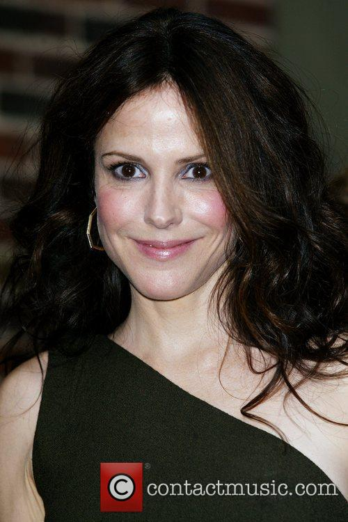 Mary-louise Parker and David Letterman 11