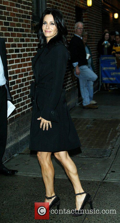 Courteney Cox and David Letterman 6