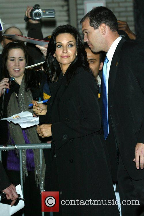 Courteney Cox and David Letterman 3
