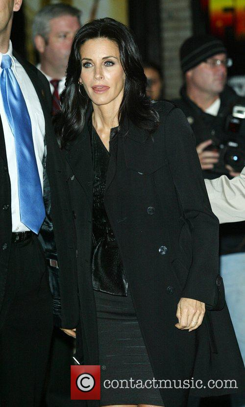Courteney Cox and David Letterman 4