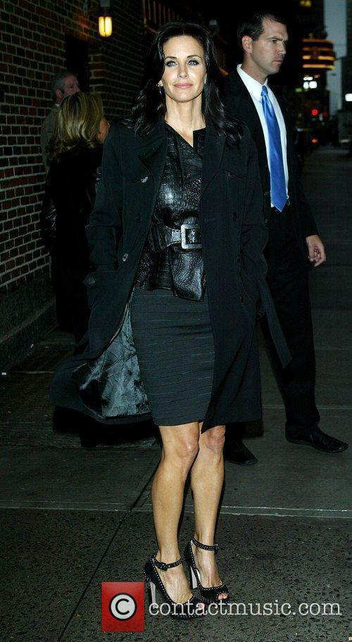 Courteney Cox and David Letterman 11