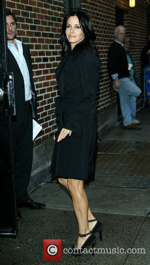 Courteney Cox and David Letterman 5
