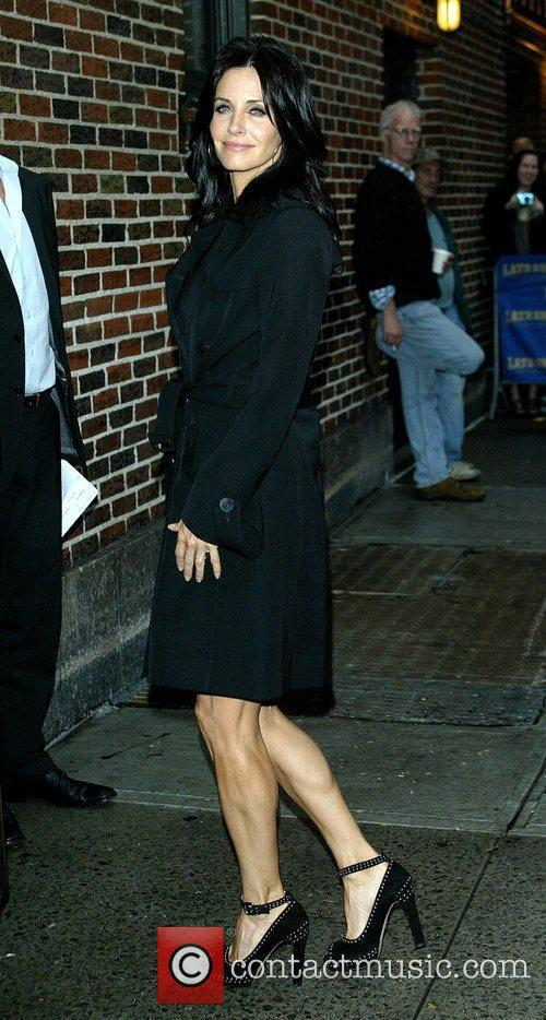 Courteney Cox and David Letterman 9