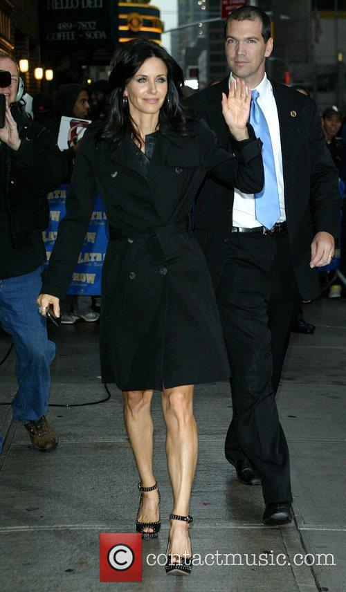 Courteney Cox and David Letterman 8