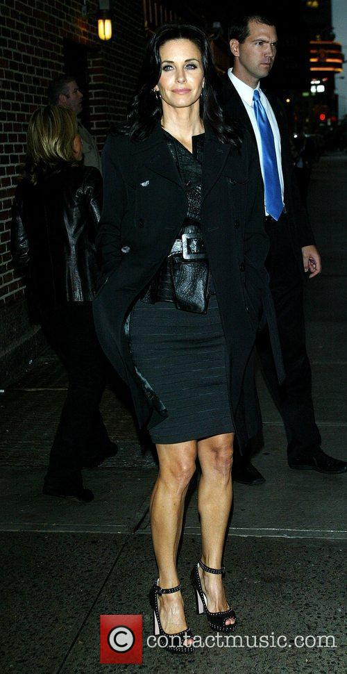 Courteney Cox and David Letterman 10