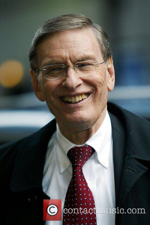 Bud Selig and David Letterman 6