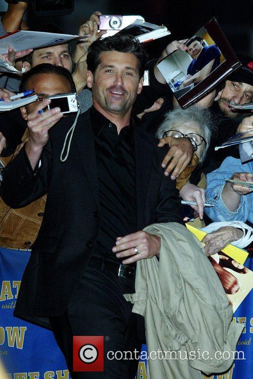 Patrick Dempsey and David Letterman 1