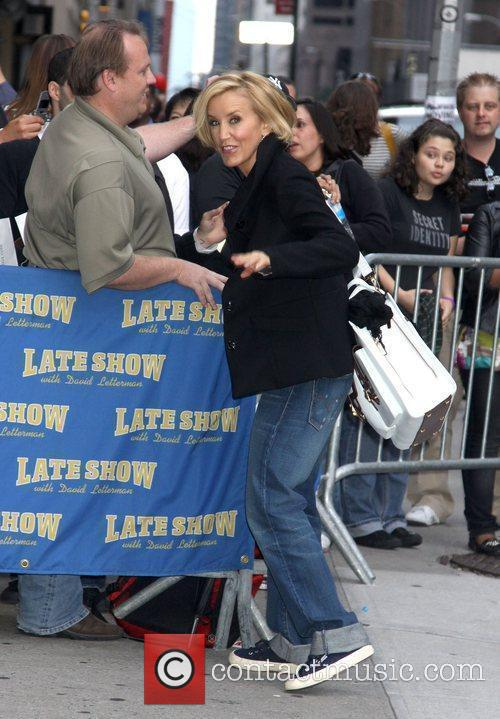 Felicity Huffman and David Letterman 7