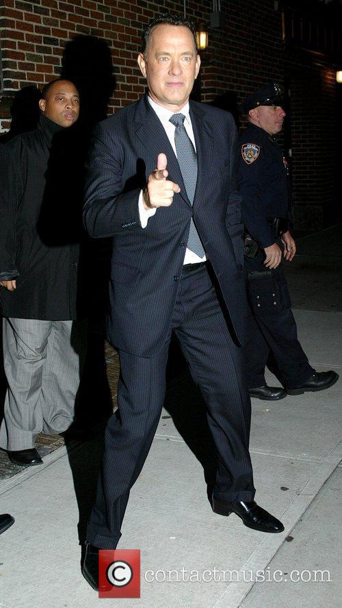 Tom Hanks and David Letterman 12