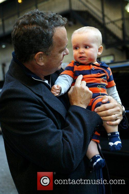 Tom Hanks and David Letterman 16