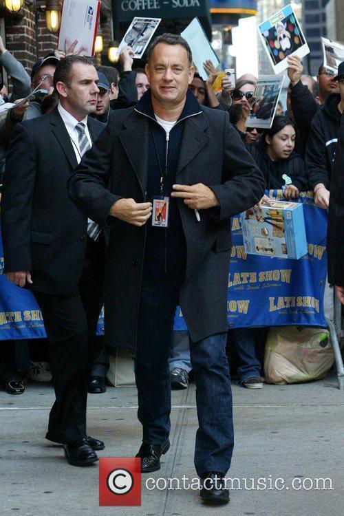 Tom Hanks and David Letterman 13