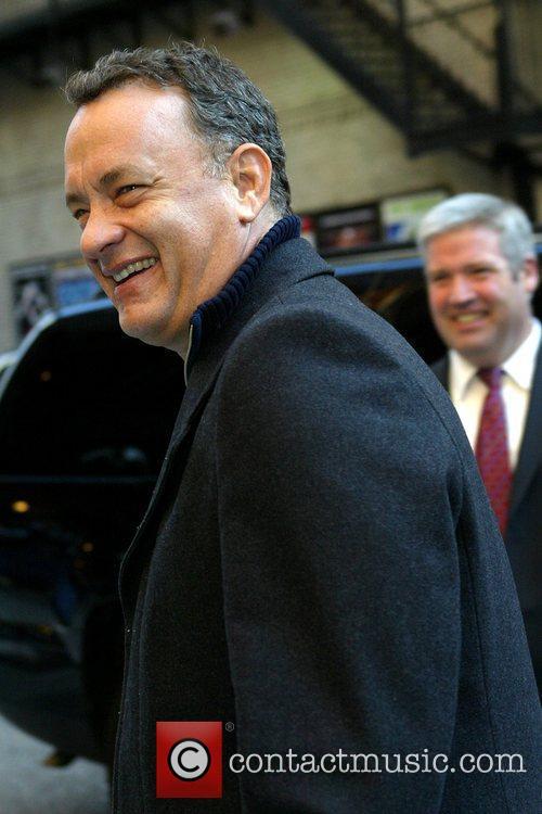 Tom Hanks and David Letterman 15