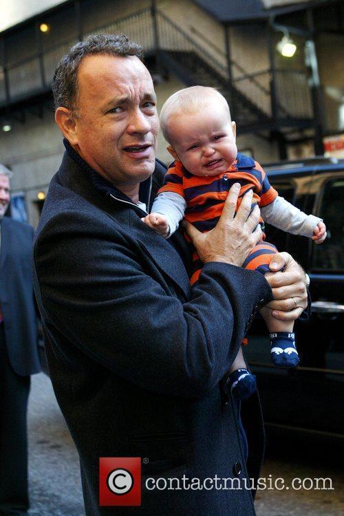 Tom Hanks and David Letterman 14