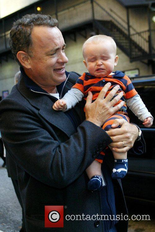 Tom Hanks and David Letterman 19