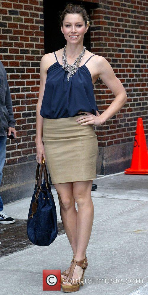 Jessica Biel and David Letterman 3