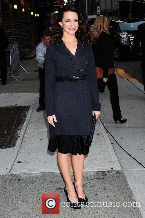 Kristin Davis and David Letterman 2