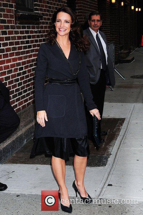 Kristin Davis and David Letterman 9