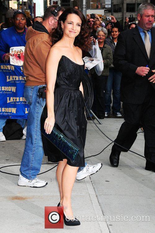 Kristin Davis and David Letterman 6