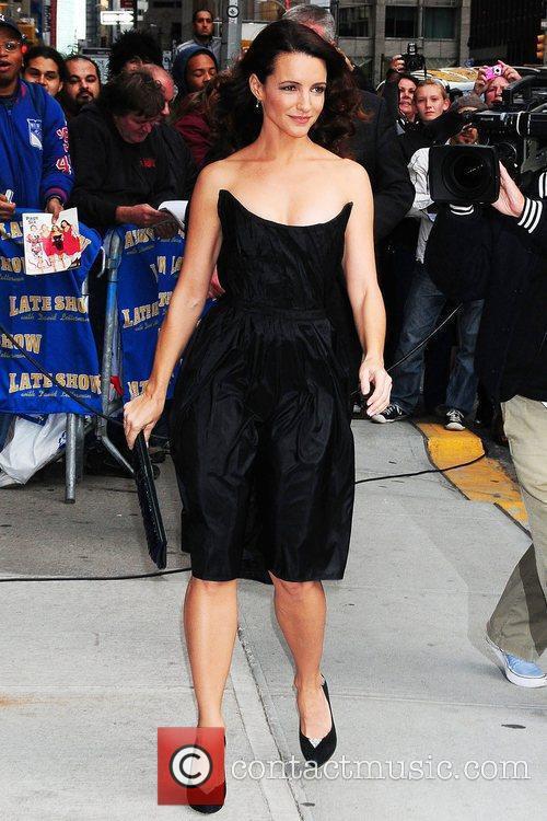 Kristin Davis and David Letterman 10
