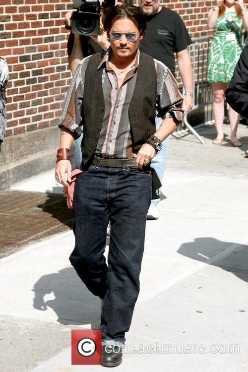 Johnny Depp and David Letterman 3